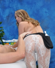 Naughty Girl Cadence Lux Fucks Her Massage Client After A Rub Down - Picture 6