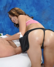 Sweet 18 Year Old Carmen Callaway Gives A Little More Than A Massage - Picture 6