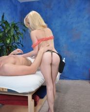 Elaina Raye Juicy Pink Pussy Fucked Massage Blowjob Hardcore - Picture 6