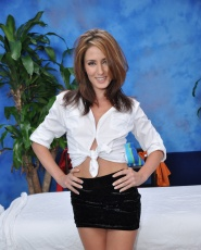 Naughty Girl Sheena Shaw Fucks Her Massage Client After A Rub Down - Picture 1